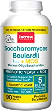 Jarrow Formulas Sacharomyces Boulardii & MOS, Provides Enhanced Support to The Intestinal Tract, 90 Caps