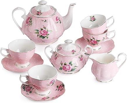 38b80c55282 Amazon.com  Pink - Tea Sets   Teapots   Coffee Servers  Home   Kitchen