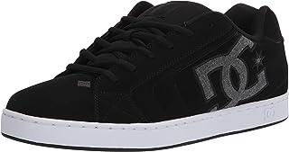 DC Men's Net Skate Shoe, black/armor