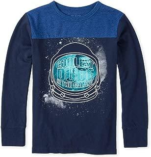 Boys' Big Long Sleeve Graphic T-Shirt