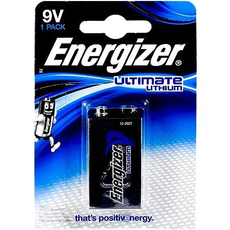 Energizer Ultimate Lithium 9 V Battery 6lr61 9 Volt Elektronik
