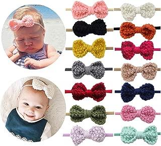 knitting pattern for baby girl headbands