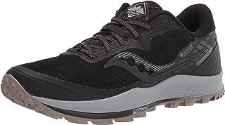 Saucony Heren Peregrine 11 GTX schoenen, black-gravel, US 10.5