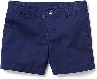 Gymboree Girls' Little Solid Midi Shorts