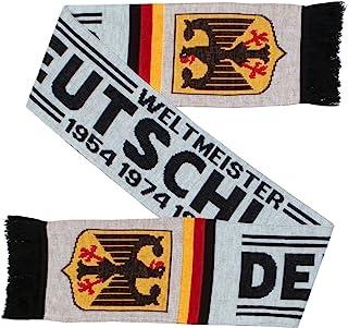 Deutschland Niemcy piłka nożna dzianina szalik