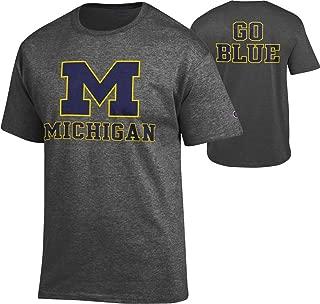 NCAA Men's Front/Back Dark Heather Tshirt