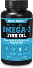 Omega 3 Fish Oil High Potency 3080mg, Enteric Coated Burpless & Non-GMO – Best..