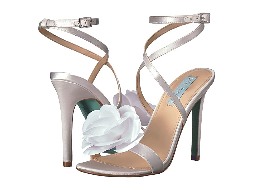 Blue by Betsey Johnson Terra (Ivory Satin) Women