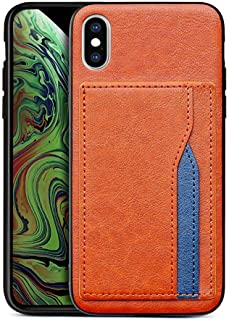 Accessories for iPhone X Case with Card Holder, iPhone Xs Wallet Case, Slim Premium PU Leather Back Cover for iPhone X Cas...