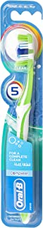 Oral-B Complete 5 Way Clean Medium Manual Toothbrush, Assorted Colors, 1 Unit