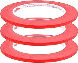 3 rollen 55 m x 5 mm sierlijntape breed contourtape lijntape afplaktape markeringtape zelfklevende tape markering tape fin...
