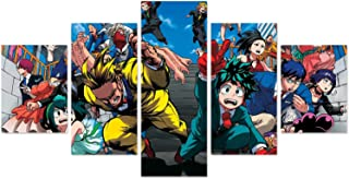 My Hero Academia Posters Prints on Canvas Anime MHA Poster for Home Bedroom Clubs Dorm Walls Decor Modern Decoration No Frame