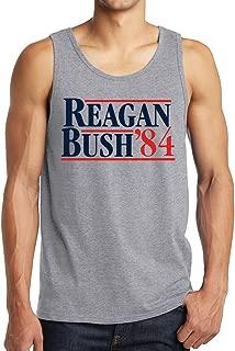 Reagan Bush 1984 Republican Presidential Election GOP Adult Tank Tops