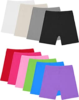 Resinta 10 Pack Dance Shorts Girls Bike Short Breathable and Safety