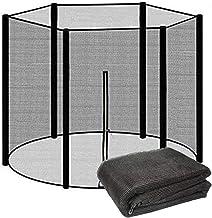 mooderff Trampoline-veiligheidsnet, trampolinenet, nylon, veiligheidsnet, reservenet