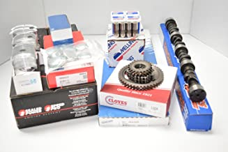 MASTER Engine Kit compatible with Chevy Marine 5.7L 350 Pistons Cam 1PC gaskets Mercruiser rings