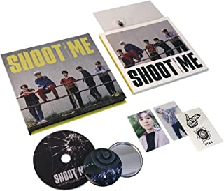 SHOOT ME : YOUTH PART 1 [ Trigger Ver. ] - DAY6 3rd Mini Album CD + Photobook + Clear Card + Tatoo Sticker + Photocard + FREE GIFT / K-POP Sealed