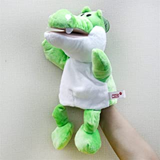 Cartoon animal hand puppet body parent-child educational toys early childhood story props gloves ventriloquist doll gift for children Creative baby safety blanket, soft soothing towel,