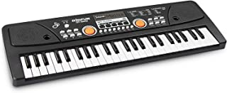 aPerfectLife 49 Multi-Function Electronic Kids Piano Keyboard Early Learning Educational Musical Instrument Toy for Beginners and Kids (Black)