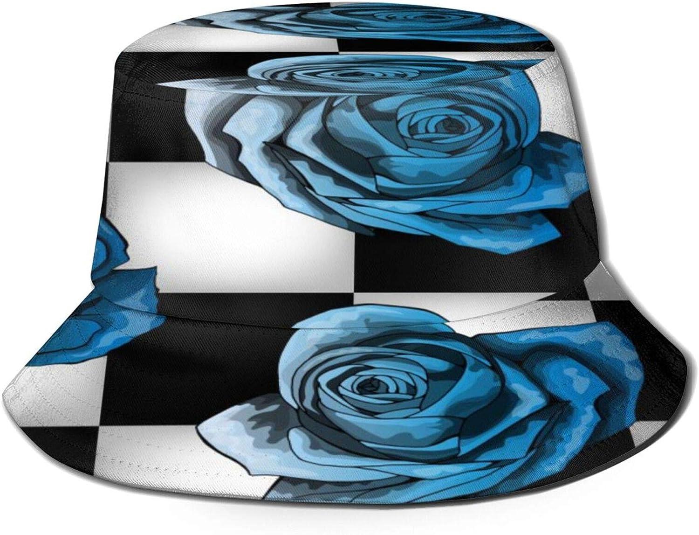 Rose Color Royal Blue Bucket Summer Very popular Sun Unisex Packable Hat Sales