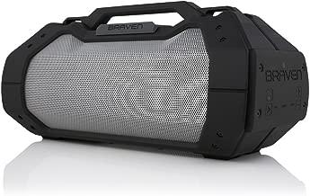 BRAVEN BRV-XXL Large Portable Wireless Bluetooth Speaker [Waterproof][Outdoor] Built-In 15,600mAh Power Bank USB Charger - Black / Titanium