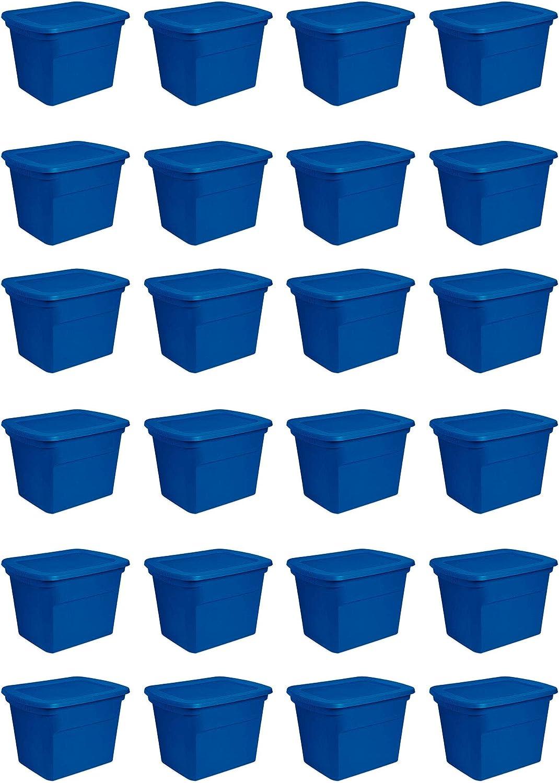 Sterilite 18 Gallon Plastic Popular brand Very popular! in the world Stackable Storage Tote Container Box