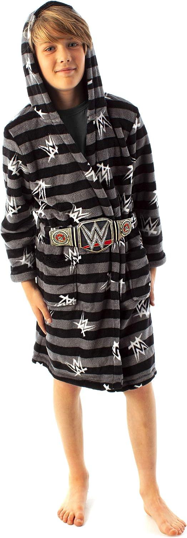 WWE Dressing Gown For Boys Wrestling Championship Title Belt Kids Bathrobe