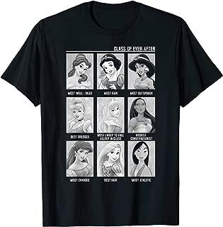 Disney Princess Yearbook Photos Style Vintage T-Shirt