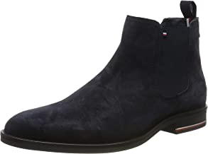 Tommy Hilfiger Signature Mens Chelsea Boots