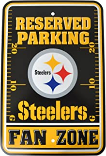 Fremont Die Official National Football League Fan Shop Authentic NFL Parking Sign (Pittsburgh)