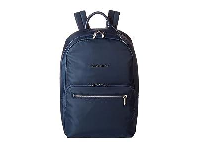 Briggs & Riley Essential Medium Backpack (Navy) Backpack Bags