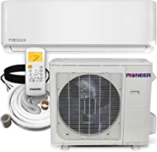 PIONEER Air Conditioner Inverter+ Wall Mount Ductless Mini Split Heat Pump, 36000 BTU-208/230 V