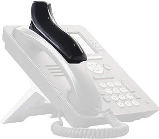 Softalk Phone Shoulder Rest, Black, Extra Wide Top for Stability, Hands Free Holder, Antimicrobial Protection, Landline Te...