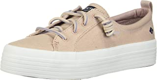 Sperry Crest Vibe Platform White Womens Sneakers Casuals Shoes
