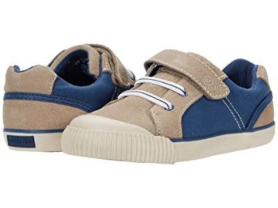 Stride Rite SR Parker (Toddler) (Taupe/Navy) Boys Shoes