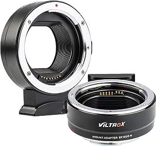 VILTROX EF-EOS R - Adaptador de Enfoque automático para Objetivo Canon EOS EF/EF-S D/SLR a Canon EF-R sin Espejo cámara EOS R/RP
