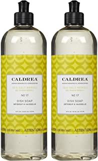 Caldrea Liquid Dish Soap - 16 oz - Sea Salt Neroli - 2 pk