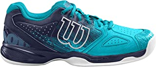 Wilson Kaos Devo Carpet, Zapatilla de Tenis para Pistas de Interior, tenistas de Cualquier Nivel Hombre