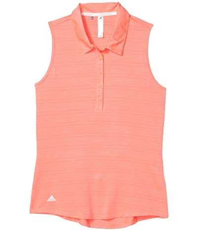 adidas Golf Microdot Polo Shirt (Flash Red) Women