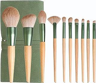 Wshizhdfu 10pcs Makeup Brushes Set, Soft Hair Foundation Powder Blush Eyeshadow Blending Make Up Brush,Cosmetic Tool ,Soli...