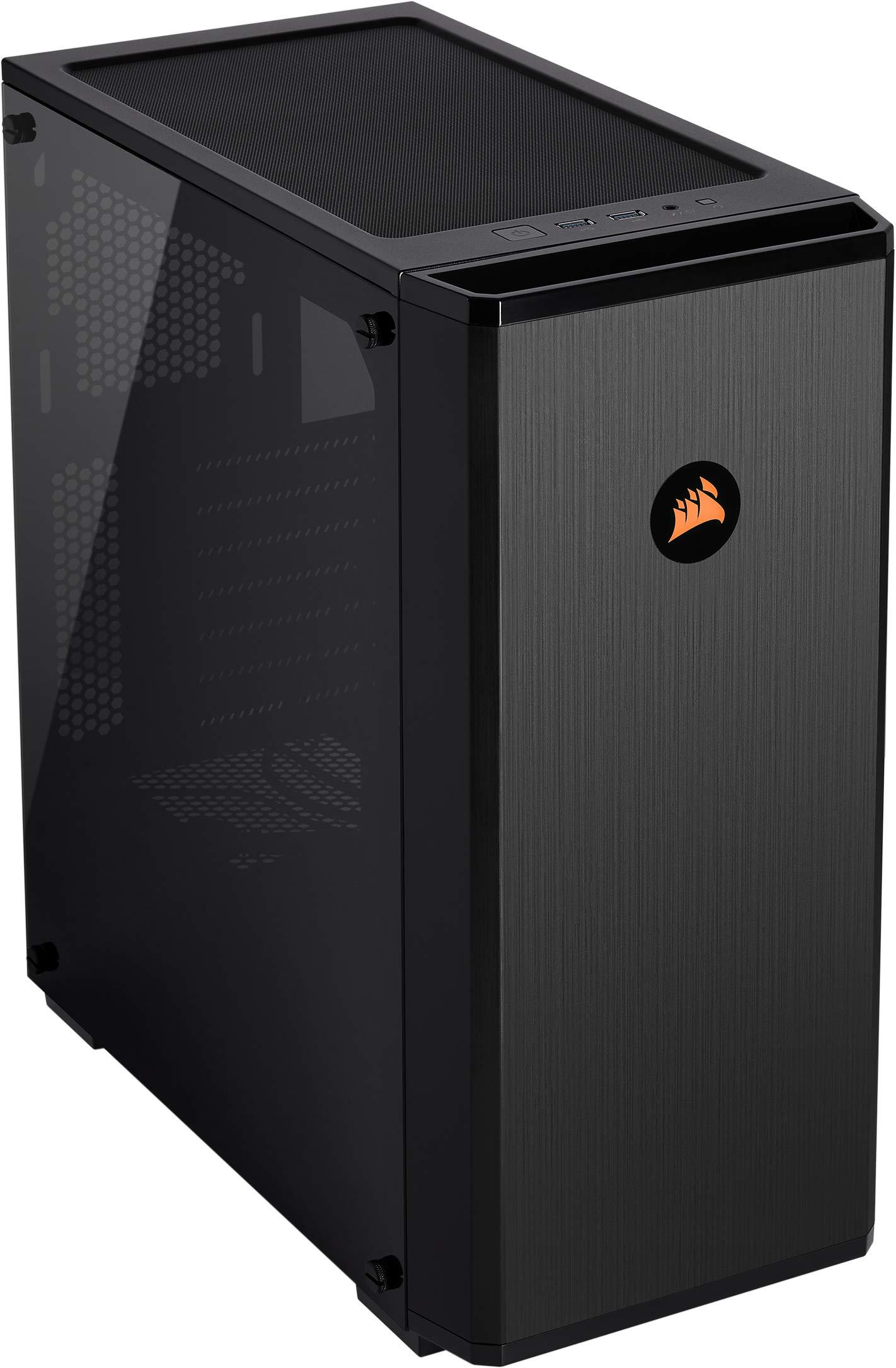 Corsair Carbide Series 175R RGB - Caja de Ordenador para Juegos (Medio-Torre ATX con Ventana de Vidrio Templado) Color Negro: Amazon.es: Informática