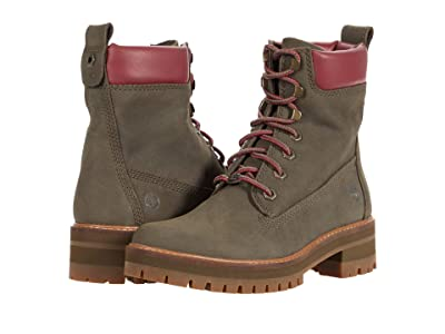 Timberland Courmayeur Valley 6 Boot (Olive Nubuck) Women