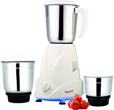 Signoracare Eco Plus Mixer Grinder, 500W, 3 Jars (White)
