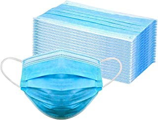 Mr Mask Disposable Non Woven Anti Bacterial 3 Ply Mask with Triple Filtration with Nose Pin