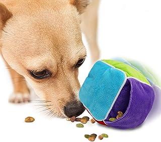 VICARKO Dog Treat Dispensing Toy, Interactive Dog Toy for Boredom, Dog Food Slow Feeder, Plush Toy, Alternative to Snuffle...