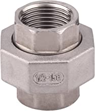 Stainless Steel 304 Cast Pipe Fitting – Union Fitting, 1/2