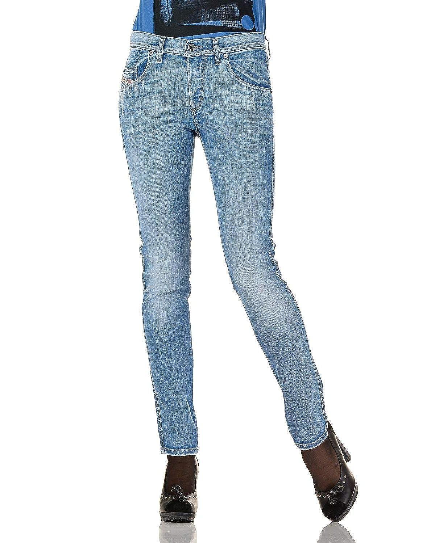 (ディーゼル) DIESEL レディース ジョグジーンズ STAFFY 8W7 Sweat jeans REGULAR TAPERED
