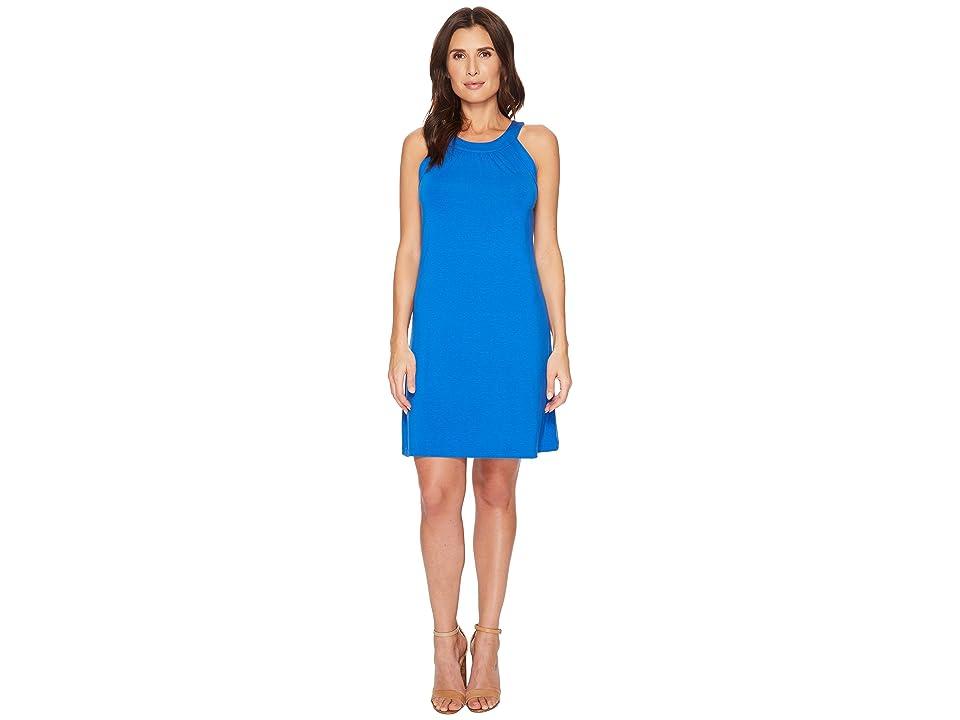Tommy Bahama Tambour Sleeveless Short Dress (Cobalt Sea) Women
