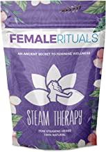 Female Rituals Steam Therapy (1 Ounce) Yoni Steaming Herbs - Natural Yoni Steam Detox - Organic V Steam