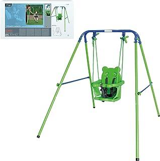 Aktive Sports  54079 -  Columpio bebé con asiento de protección 119x110x140 cm